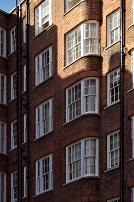 london building brick wall